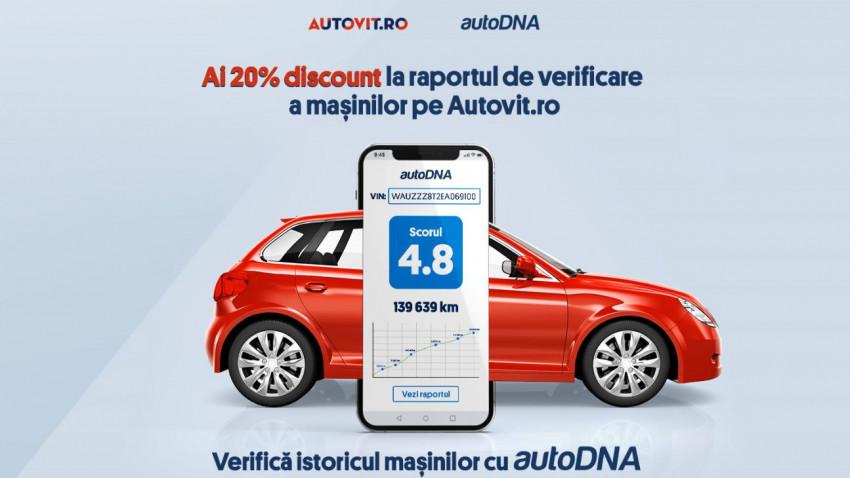 Utlizatorii Autovit.ro pot verifica, acum, istoricul mașinilordirect din site