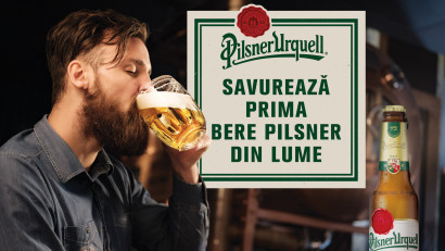 Pilsner Urquell, prima bere tip pilsner din lume - același gust, acum într-un nou ambalaj