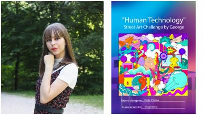 [Human, Art & Tech] Delia Cîrstea: Mi-am imaginat cum ar fi să privesc lumea înconjurată de tehnologie dintr-o altă perspectivă