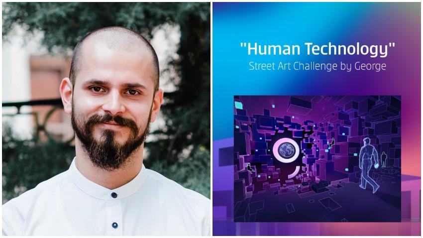 [Human, Art & Tech] Andrei Enache: Mereu am fost un adept al ideii de simbioza intre tehnologie si om