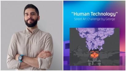 [Human, Art & Tech] Catalin Serbu: Faptul ca pot sari de la un gand la altul, si tehnologia raspunde in armonie cu gandurile mele, mi s-a parut remarcabil