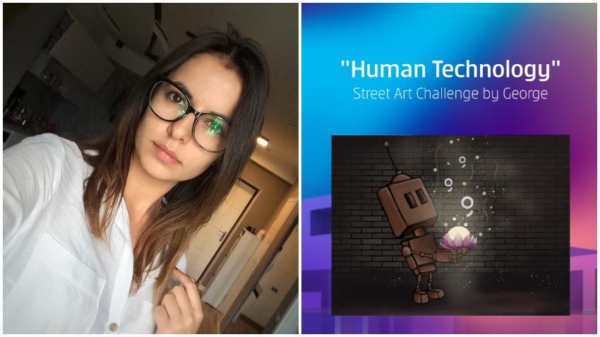 [Human, Art & Tech] Anastasia Cujba: Arta și tehnologia, în simbioză, pot crea lucruri fermecătoare