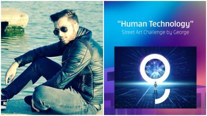 [Human, Art & Tech] Iulian Sin: Mi-a venit ideea unui portal către necunoscut și am simțit ca logo-ul George este foarte ofertant