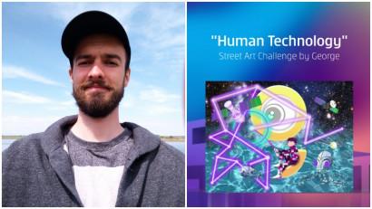[Human, Art & Tech] Stefan Constantin: Am ales sursa de inspiratie a omenirii pentru tehnologie. Cerul, posibilitati nelimitate, conectare prin electricitate, lumina, circuite si stele