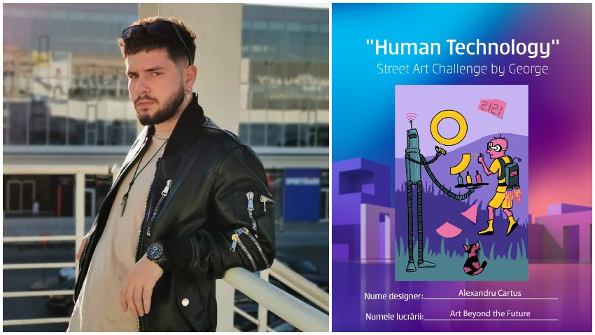 [Human, Art & Tech] Alexandru Cartuș: Tehnologia, arta și realitatea urbană se dezvoltă împreună și construiesc un ecosistem nou pe zi ce trece