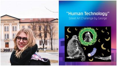 [Human, Art & Tech] Arina Bădărău: Oamenii sunt prea serioși, e nevoie de cineva care să le descrețească frunțile