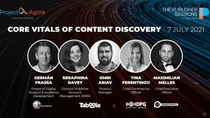 Core Web Vitals și Content Discovery sunt principalele subiecte care vor fi abordate pe 7 iulie la forumul editorilor web organizat de Project Agora