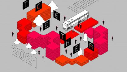 The Institute și UniCredit Bank prezintă cea de-a noua ediție a festivalului Romanian Design Week, care ne reamintește cât de important este să fim ÎMPREUNĂ