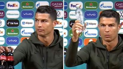 Ronaldo: Gestul care a șocat lumea marketingului