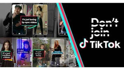 TikTok aduce în centrul primei campanii TV din România prejudecățile legate de aplicație