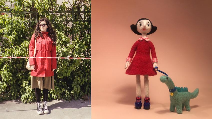 [Obsesii part-time] Laura Dragomir (Headvertising): Am început să fac sculpturi din fetru care înfățișau un personaj nou, o păpușă care îți zice despre cum e să fii om