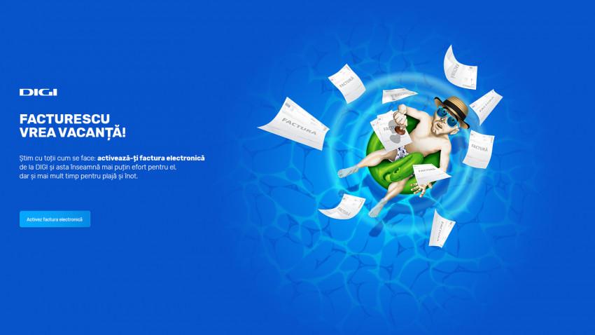 Mai puține griji pentru clienți și un mediu mai curat pentru toți, cu FACTURESCU și factura electronică DIGI