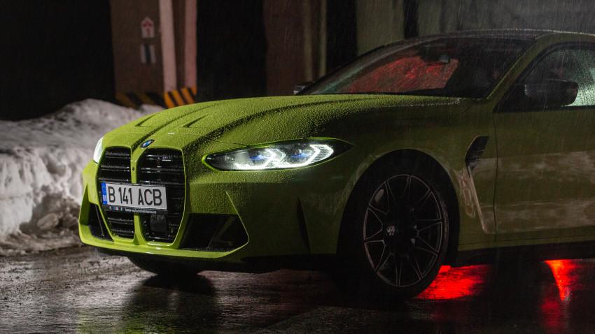 Video-jurnal de călătorie în România la volanul BMW M4 Competition. Real-time story despre performanță & design