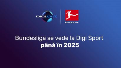 Bundesliga se vede la Digi Sport și în următoarele patru sezoane
