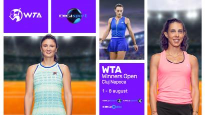 Winners Open, singurul turneu WTA din România, la Digi Sport