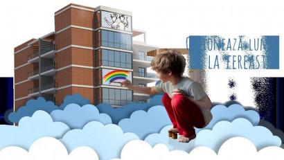 Lumea e mai frumoasă prin ferestrele colorate de copii
