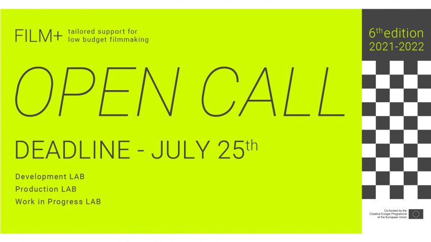 FILM+ lansează apelul de proiecte pentru cineaști - ediția a VI-a