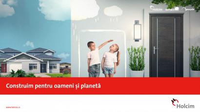 Holcim - Construim pentru oameni si planeta