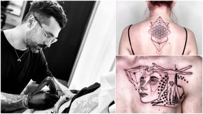 [Arta pielii] OG ANDRAW: Primul tatuaj l-am facut pe mine, am incercat pe cat de mult posibil sa fiu cat mai stapan pe situatie inainte sa pot tatua pe oricine altcineva