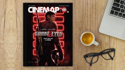 A apărut revista Cinemap powered by Kiss FM, ediția de iulie