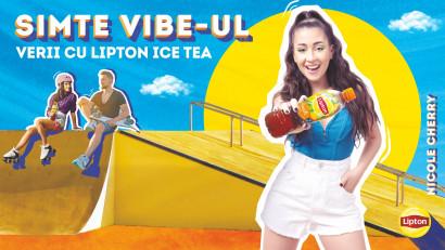 """Lipton Ice Tea și Nicole Cherry te invită la un uplift al distracției prin campania """"Simte vibe-ul verii cu Lipton Ice Tea"""""""