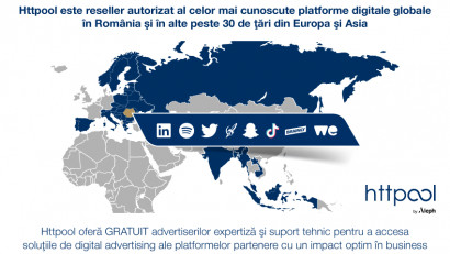 Parteneriatul TikTok - Httpool, aliatul advertiserilor în dezvoltarea campaniilor online de succes
