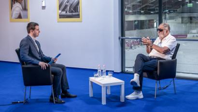 """Ion Țiriac, președintele Federației Române de Tenis, invitat în premieră la """"Așii tenisului"""""""