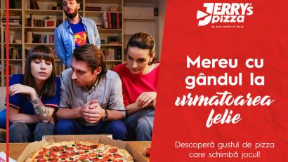 Jerry's Pizza - Mereu cu gandul la urmatoarea felie