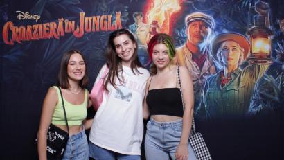 """Entuziasm și bucurie la avanpremiera filmului """"Croazieră în junglă"""", o aventură captivantă și un omagiu adus croazierei clasice de la Disneyland"""
