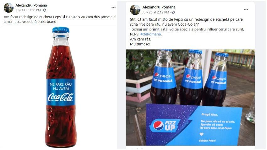 Branding și influencing. Un Pepsi de pomană