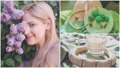 [Noii artizani] Alexandra Sabrina Bîndiu transformă visele vintage în bijuterii
