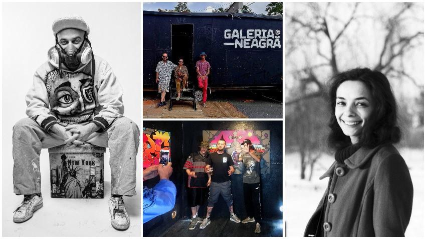 Galeria Neagră, unde lucrurile se întâmplă pe stradă. Carla&IRLO: Zona aceasta este încă un soi de subcultură în țară