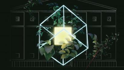 ONE NIGHT GALLERY LOVE RIZI deschide publiculuiGrădina TVR Molière printr-o expoziție de new media art