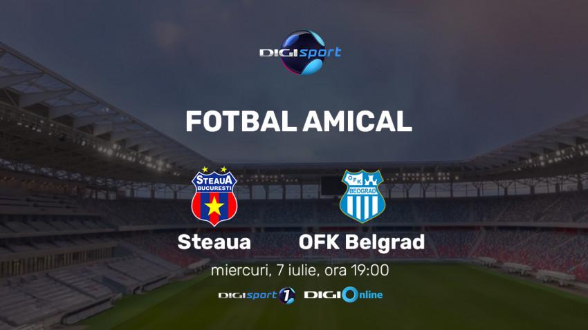 Meci de poveste pentru inaugurarea oficială a stadionului Ghencea, în direct, la Digi Sport