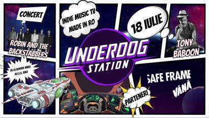 Underdog Station, se lansează pe 18 iulie printr-un concert virtual Robin and the Backstabbers de la bordul navei spațiale RO.S.S. Vuia