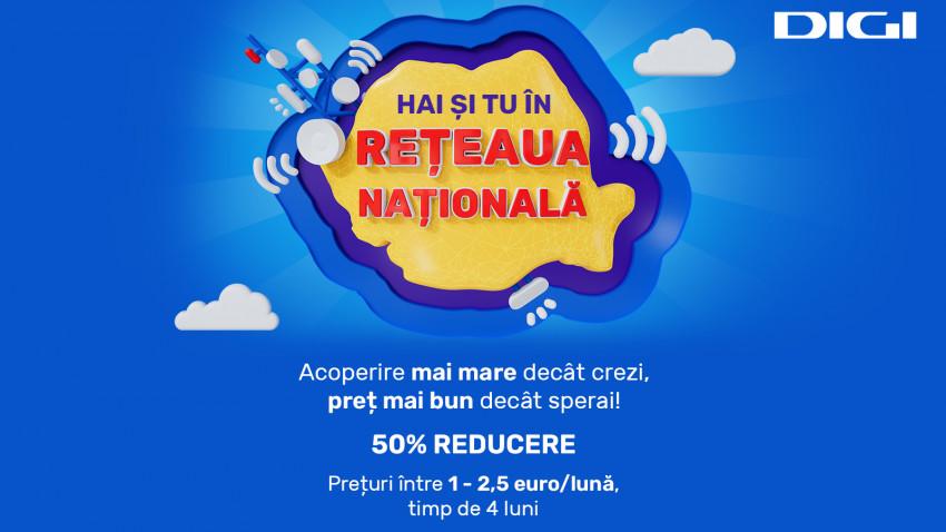 Rețeaua Națională lansează o super-ofertă estivală pentru serviciile de telefonie mobilă