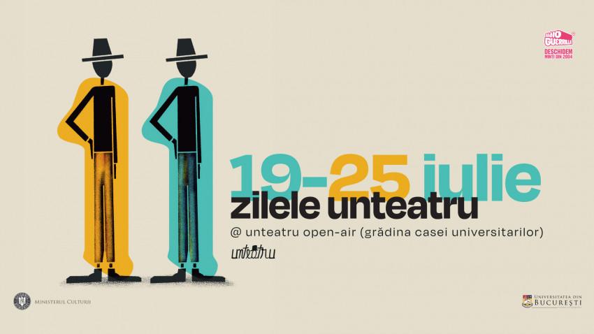 Festivalul Zilele unteatru inaugurează proiectul Unteatru Open-Air- stagiunea de vară din Grădina Casei Universitarilor
