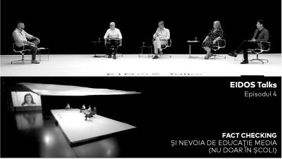 Despre necesitatea educației media în școli, instituții publice și în societate, în episodul 4 al seriei EIDOS Talks