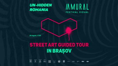 Un-hidden Romania – street art tur în Brașov.Descoperă picturi murale recente și captivante din Brașov, în turul de artă stradală Un-hidden Romania