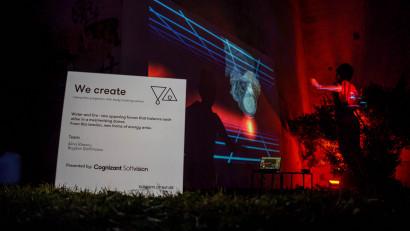 One Night Gallery, expoziția de artă și tehnologie care a deschis Vila Șuțu pentru o seară cu instalații new media și proiecții