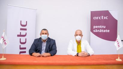 """Compania Arctic donează Spitalului """"Grigore Alexandrescu""""produse electrocasnice în valoare de 100.000 de lei"""