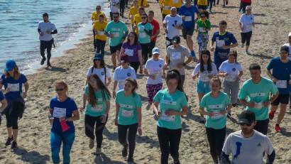 Au mai rămas 5 săptămâni până la ultramaratonul AUTISM24H, competiția de 24h ce va avea loc pe plaja din stațiunea Mamaia, între 4-5 septembrie