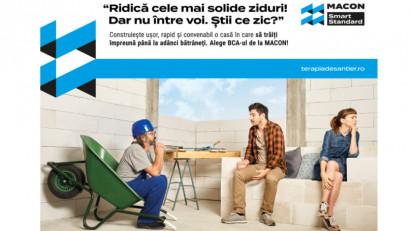 Saatchi & Saatchi + The Geeks semnează MEȘTERAPEUTUL, prima campanie de comunicare pentru MACON, standardul pieței românești de BCA