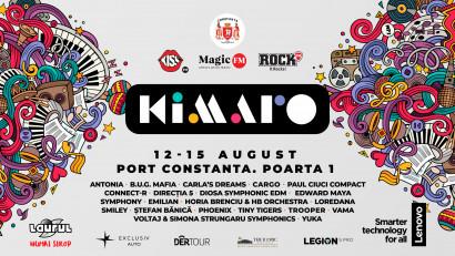 Kiss FM, Magic FM și Rock FM prezintăKIMARO,cel mai mare festival al muzicii românești