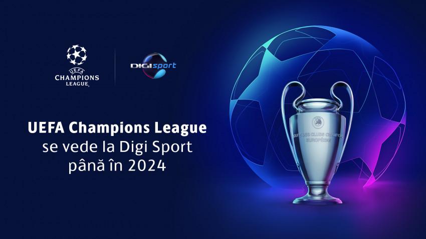 UEFA Champions League: Spectacolul continuă la Digi Sport și Digi 4k