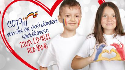 Copiii români de pretutindeni se întâlnesc la sărbătoarea Limbii Române