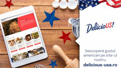 Kooperativa 2.0 și Departamentul de Agricultură al Statelor Unite anunță lansarea DelicioUS! - platforma ce aduce gustulAmericii autentice în bucătăria românilor