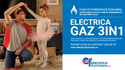 Gazele naturale oferă echilibru caselor românilor în noua campanie semnată de Rusu+Borțun pentru Electrica Furnizare