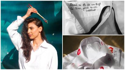 [Noii antreprenori] Loredana Munteanu: Pictez și customizez povești pe cămăși masculine. Dintotdeauna am găsit cămașa drept cel mai simplu, versatil, sexy și încrezător item din garderobă