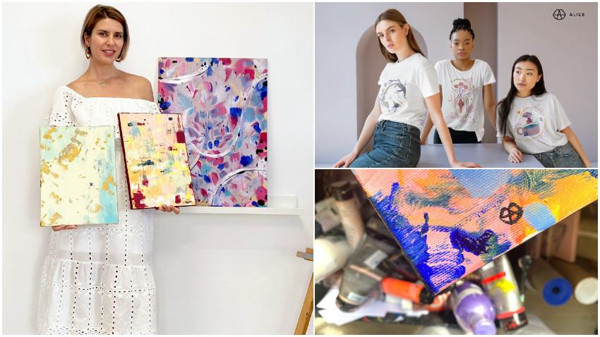 [Noii antreprenori] Alice Stanciu: Procesul creativ este esential pentru fericirea mea. In final, aici se rezuma totul